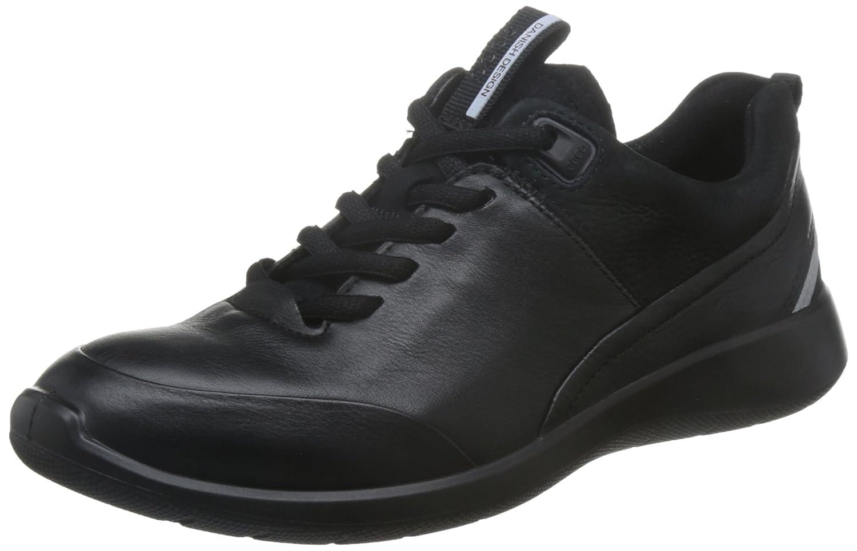 Ecco Damen 5 Soft 5 Damen Sneaker Schwarz (schwarz/schwarz) 3e2f81