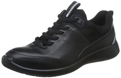Ecco Soft 1, Zapatillas para Mujer, Negro (Black), 38 EU