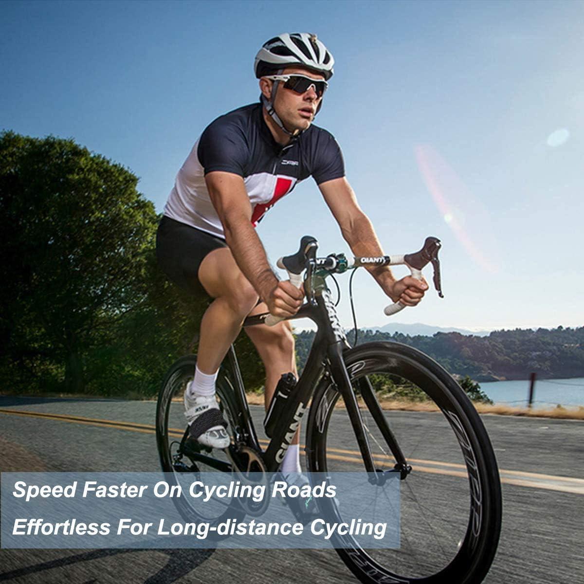 ONE PAIR Pedal Straps Bicycle Feet Strap Bike Strap Toe Clip Strap Black Nylon G