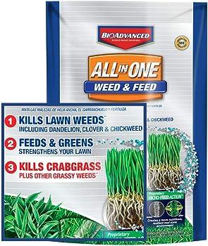 BioAdvanced All in One Weed & Feed Granular Weed Killer
