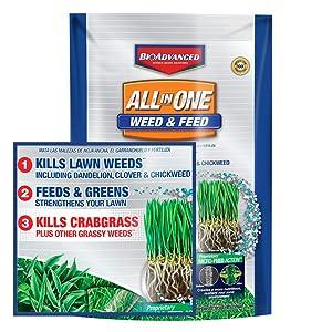BioAdvanced 100532514 Weed & Feed