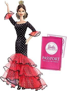 Amazon.es: Barbie - Muñecas del Mundo: España (Mattel X8421 ...