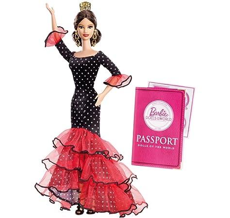 Amazon.es: Mattel – l9583 – Muñeca Barbie Princesa de España ...