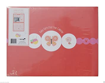 Baby/'s First Year Keepsake Circus Calendar and Stickers M