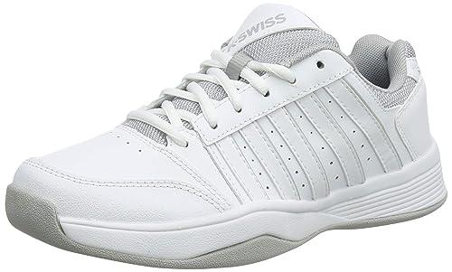 K-Swiss Performance Court Smash Carpet Wht/High-Rise-m, Zapatillas de Tenis para Mujer: Amazon.es: Zapatos y complementos