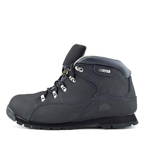 Nuevo Mens Comodidad de Trabajo Botas de Seguridad Puntera de Acero Impermeable botas de Bases -