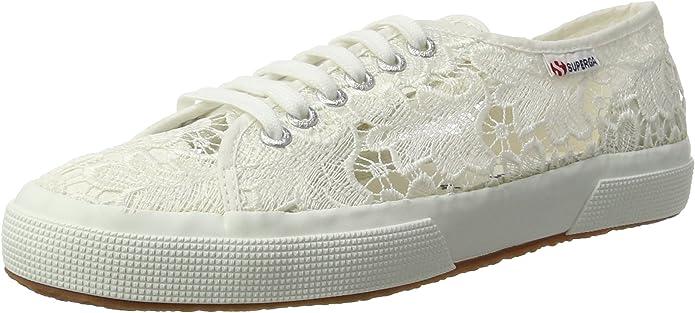 Superga 2750 Macramew Sneakers Damen Weiß (Spitze)