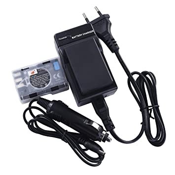 DSTE 2-Pieza Repuesto Batería y DC15E Viaje Cargador kit para Nikon EN-EL9 EN-EL9a D40 D40X D60 D3000 D5000 Digital Cámara