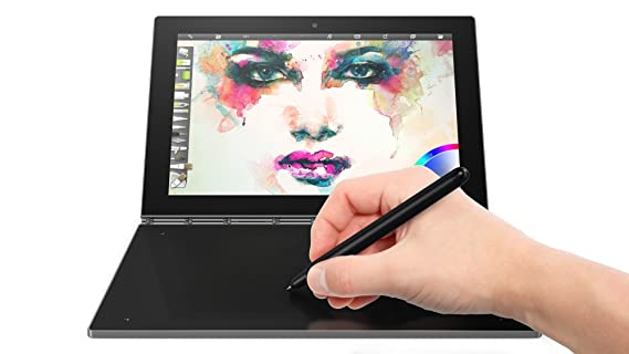 Lenovo Yoga Book - Tablet de 10.1 FullHD (Procesador Intel Atom X5 Z8550, RAM de 4GB, memoria interna de 64GB eMMC, Camara Frontal de 8MP, Android ...