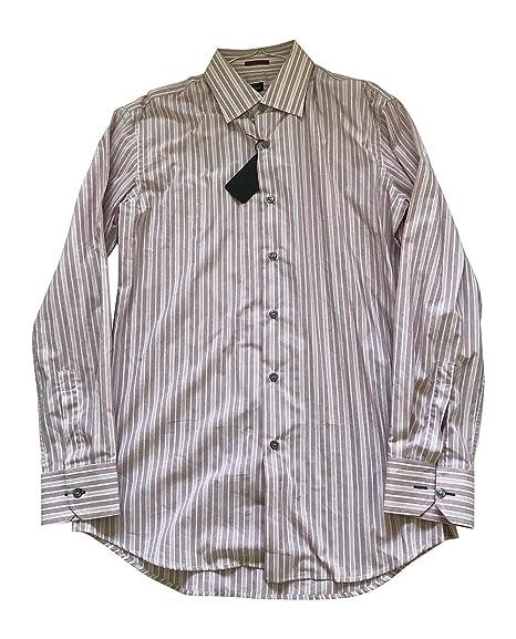 9964b90483 Long Sleeve Stripe SHIRT - size 16 / 41- P2P 22 inches - RRP £165 - PAUL  SMITH: Amazon.co.uk: Clothing
