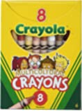 Multicultural Crayons, 8 Skin Tone Colors/Box, Sold as 1 Box