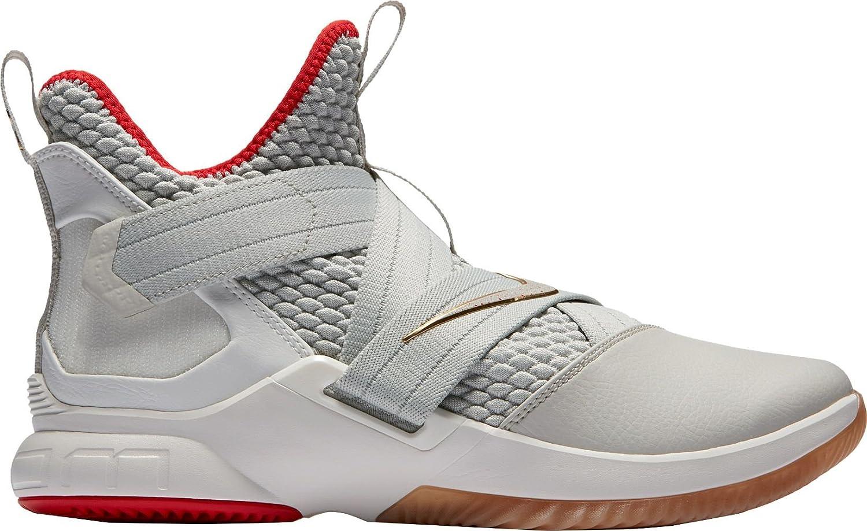 ナイキ メンズ スニーカー Nike Men's Zoom LeBron Soldier XII Baske [並行輸入品] B07DG2Z2CG