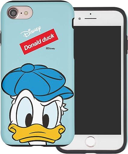 Coque iPhone Se/iPhone 5S / iPhone 5, Disney Mignonne Donald Duck Étui Housse [Ultra Hybrid] Dure Protection en PC Bumper en TPU Coque pour [ Apple ...