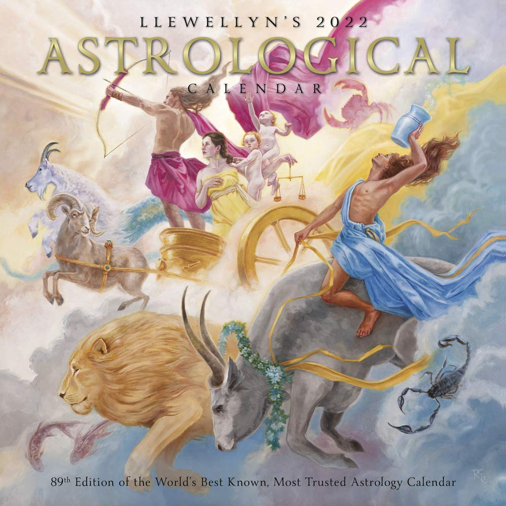 2022 Astrology Calendar.Llewellyn S Astrological 2022 Calendar The World S Best Known Most Trusted Astrology Calendar Amazon In Quinlan Tracy Scofield Bruce Llewellyn Books
