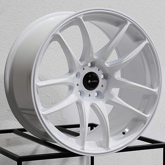 17x9 Vors TR4 5x114.3 30 Hyper Black Wheel Rim 73.1