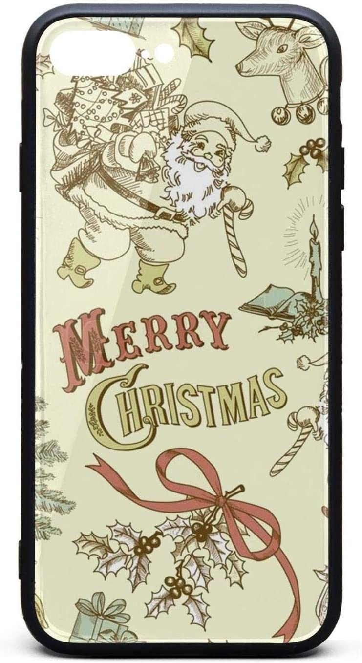 Amazon Com Wonderful Vintage Christmas Wallpaper Phone Case