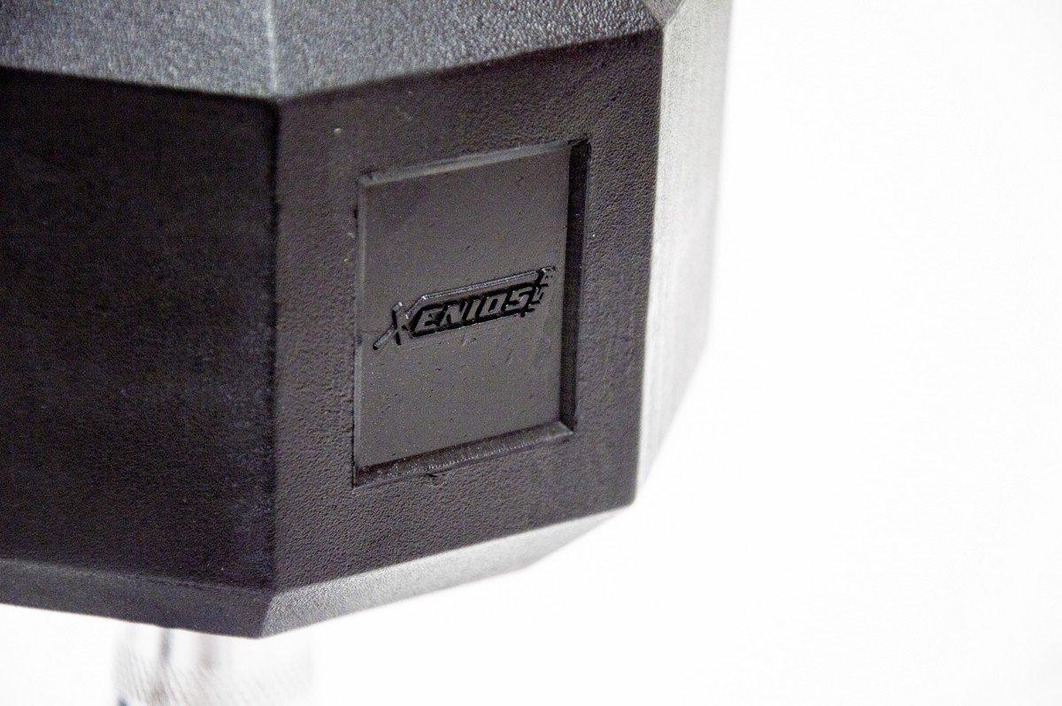 Estados Unidos Xenios octogonales de Goma-Mancuernas 5 kg, Negro ...