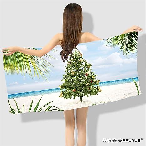 PRUNUS Toalla de playa premium personalizada con silueta de mujer con efectos de mezcla vertical y
