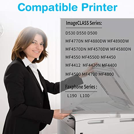 Supply Spot offers3 Pack Compatible 128 Toner Cartridges D550 MF4770 MF4890 Printers MF4450 D560 MF4570 MF4880 for Canon imageCLASS D530