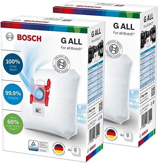 8 Bolsas de Aspiradora para Bosch Sphera 28 1800W, Super C Electronic 630, Super C Powerline Plus, Super C Turbojet, Super E 320/330: Amazon.es: Hogar