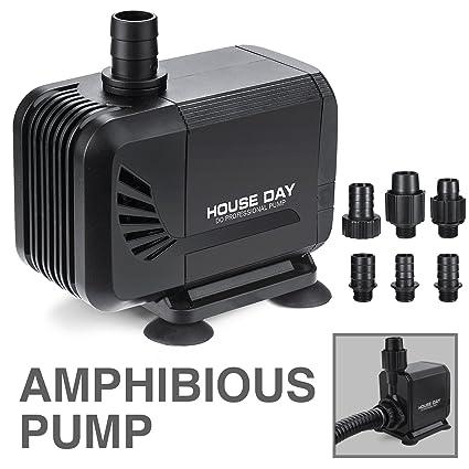 Amazon Com House Day 800gph 3000l H 45w Amphibious Submersible