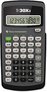 Texas Instruments TI30XA TI-30Xa Scientific Calculator, 10-Digit LCD