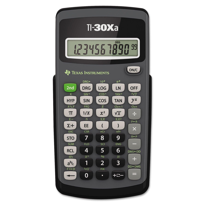 Texas Instruments 30Xa Battery Scientific Calculator 30XA/TBL/1L1/B TI30XA