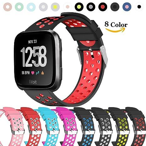 Chok Idea Fitbit Versa, correa de silicona para Fitbit Versa ...