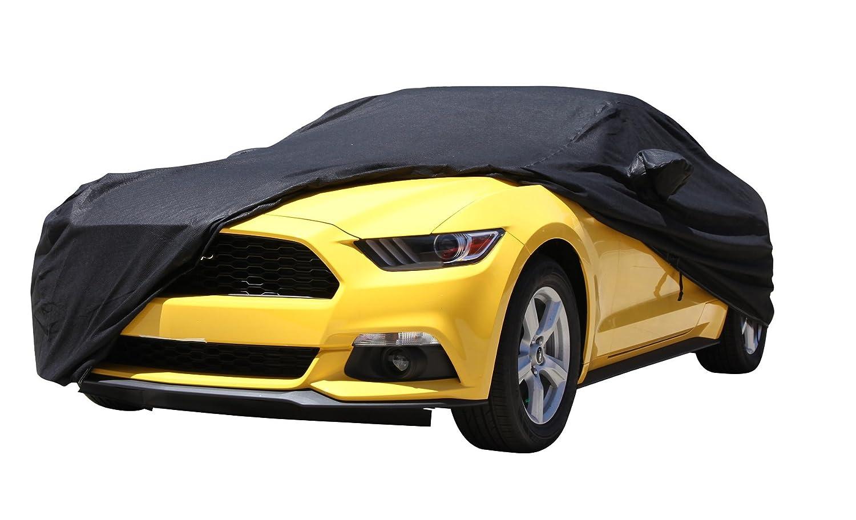 XtremeCoverPro Gold Series Waterproof 100/% Breathable Car Cover for Selected Mercedes-Benz SLK250 SLK350 SLK55 2015 Jet Black