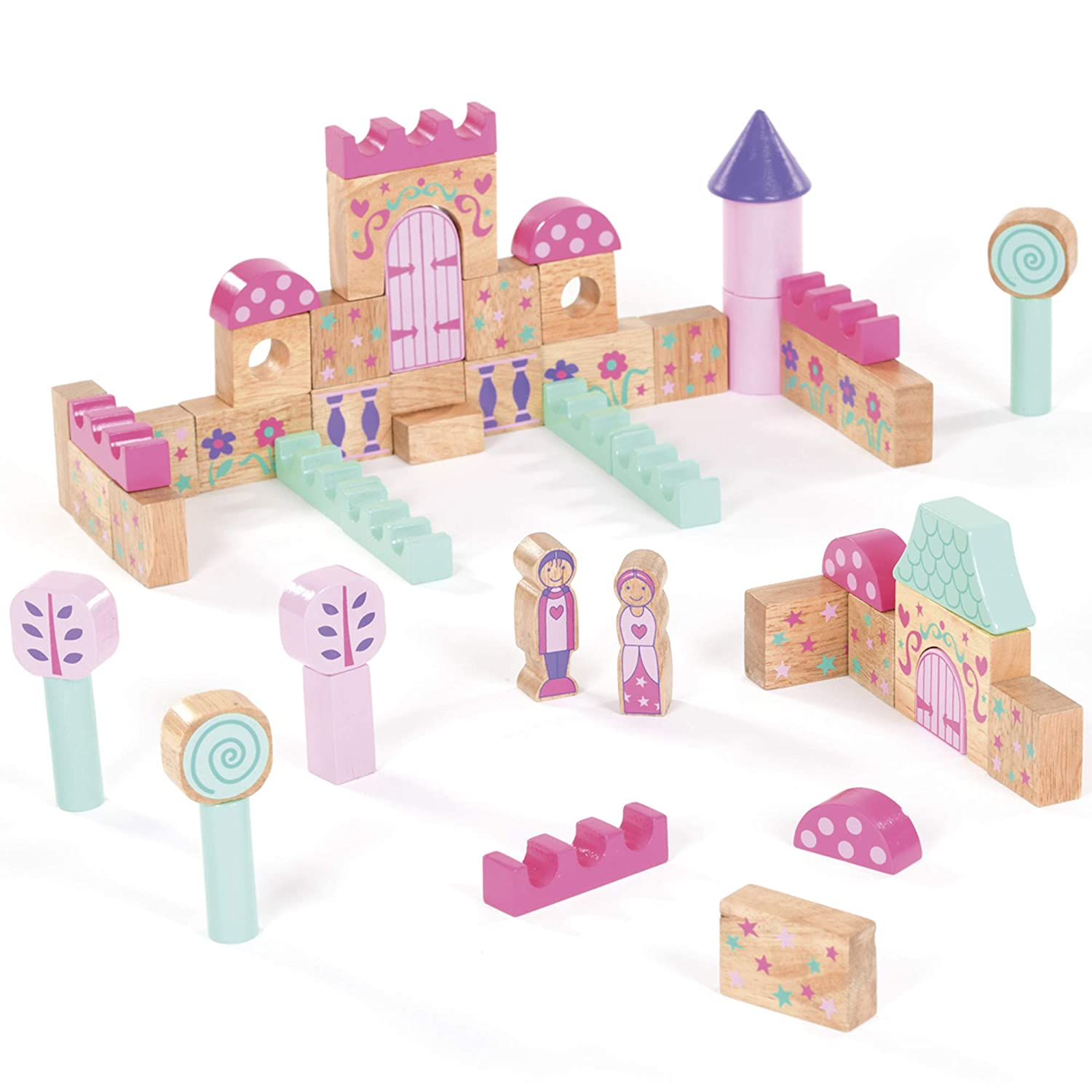 great for young kids Build A Castle model kit from Small World Creative