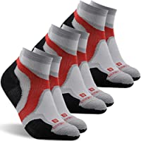 332805b72adc2 No Show Running Socks, ZEAL WOOD Unisex Merino Wool Ankle Athletic Socks,1/