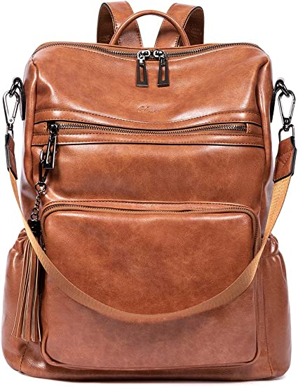 Backpack Purse for Women Fashion Leather Designer Travel Large Ladies