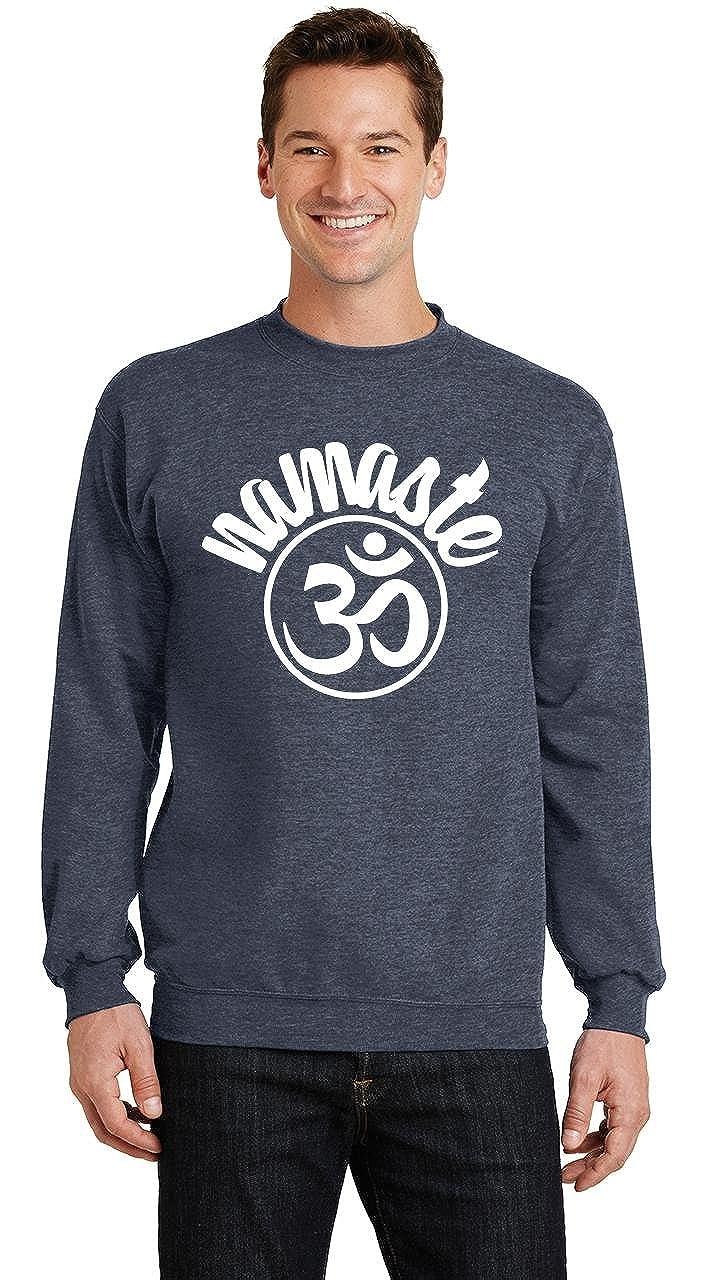 Comical Shirt Mens Namaste Om Sweatshirt