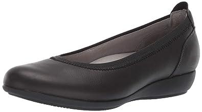 6a333c5db5 Dansko Women's Kristen Shoe, Black Milled Full Grain, 36 M EU (5.5-
