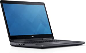 "Dell H865W Precision 7710 Mobile Laptop, 17.3"" FHD, Intel Core i7-6820HQ, 8GB DDR4, 256GB Solid State Drive, Windows 10 Pro"