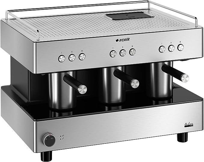Arçelik K3700 Telve Pro Coffee Machine (9 People): Amazon.co