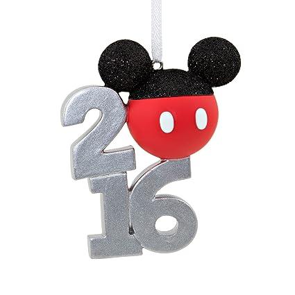 hallmark 2016 disney mickey mouse holiday ornament - Mickey Mouse Christmas Ornaments