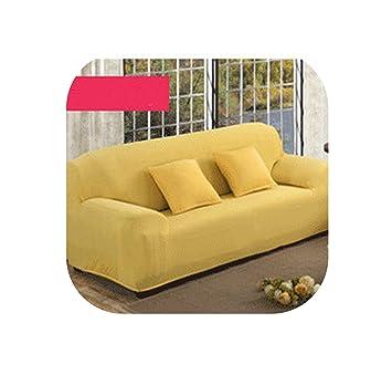 Amazon.com: 4/3/2/1 Seat Elastic Spandex Sofa Cover ...