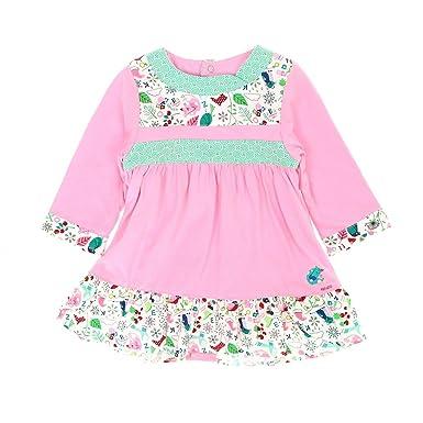 32cafdd4da9dd Kenzo - Robe rose volants - Fille 6 mois  Amazon.fr  Vêtements et ...