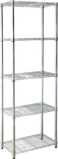Kit Closet estantería stylo 10002, Metal, 180X60X35: Amazon ...