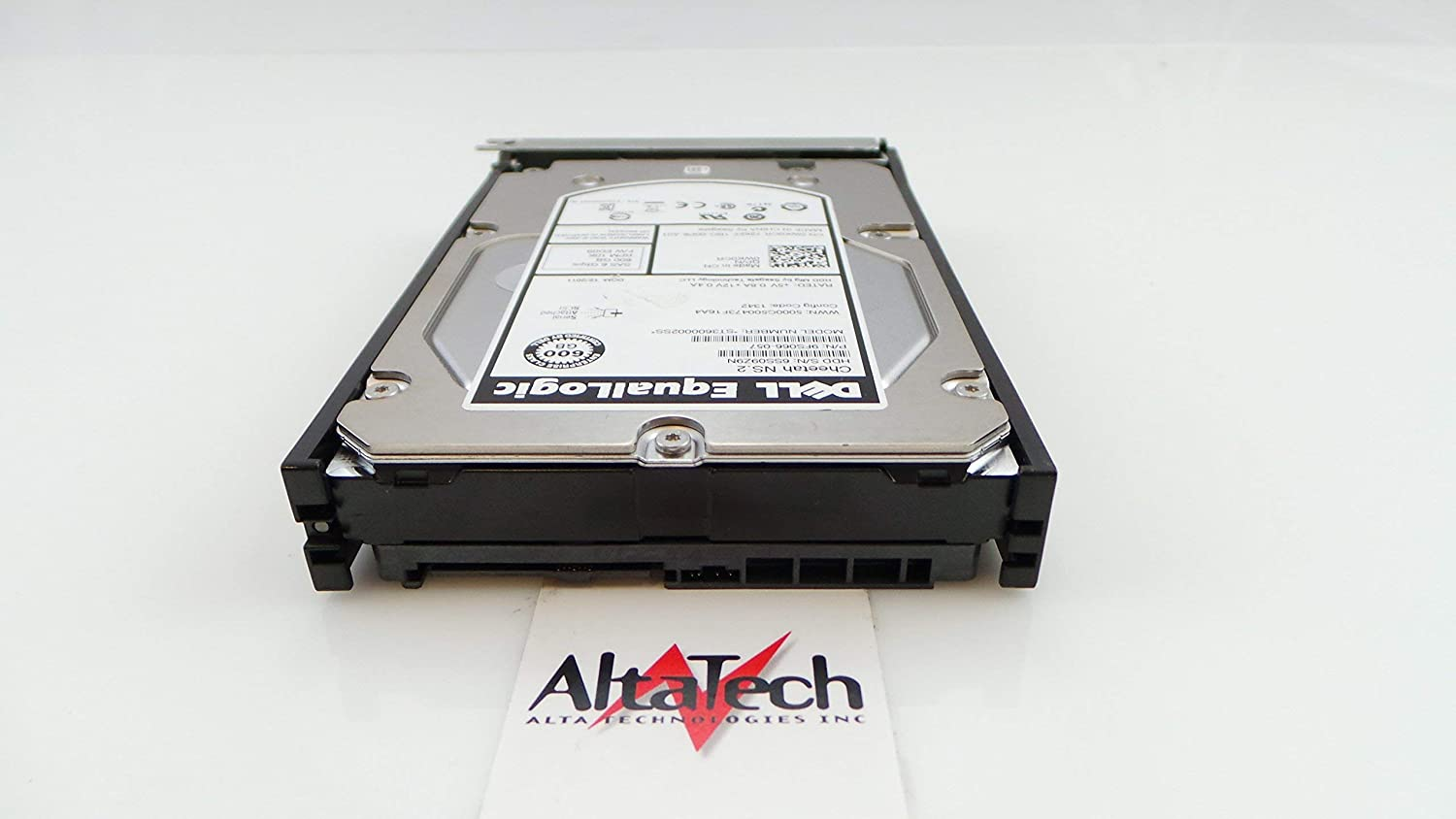 DELL ST3600002SS-DELL-EQ DELL 600GB 10K SAS 3.5 6Gbps HARD DRIVE EQUALLOGIC Certified Refurbished
