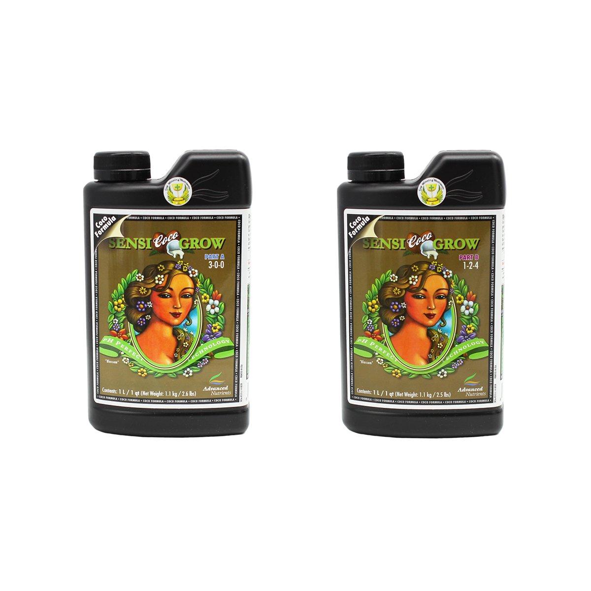 Advanced Nutrients pH Perfect Sensi Grow Coco Part A+B Soil Amendments, 500ml 8550-13AB