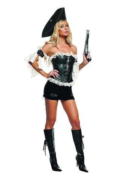a05de26938e Amazon.com: Starline Women's Swashbuckler Sexy Pirate Costume: Clothing