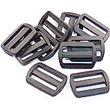Schieber-Stopper-Gleiter 10 Stück für 25mm Band-Gurtband
