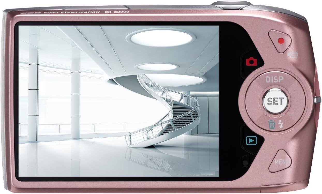 Casio Exilim Ex Z2000 Pk Digitalkamera Rosa Kamera