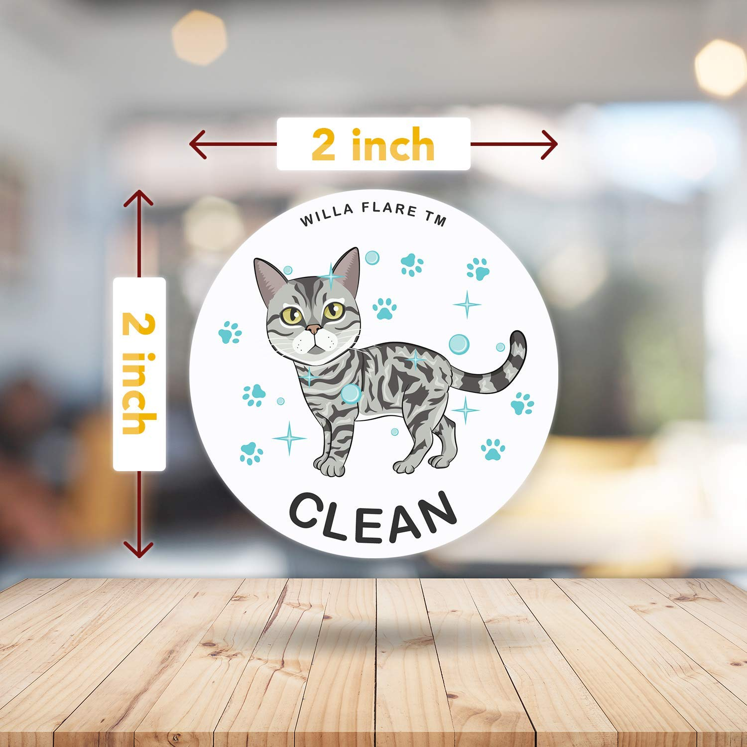 Amazon.com: Dishwasher Magnet Clean Dirty Sign | Kitchen Label for Home Organization | Funny Clean Dirty Dishwasher Magnet Cat Accessories and Funny Cat ...