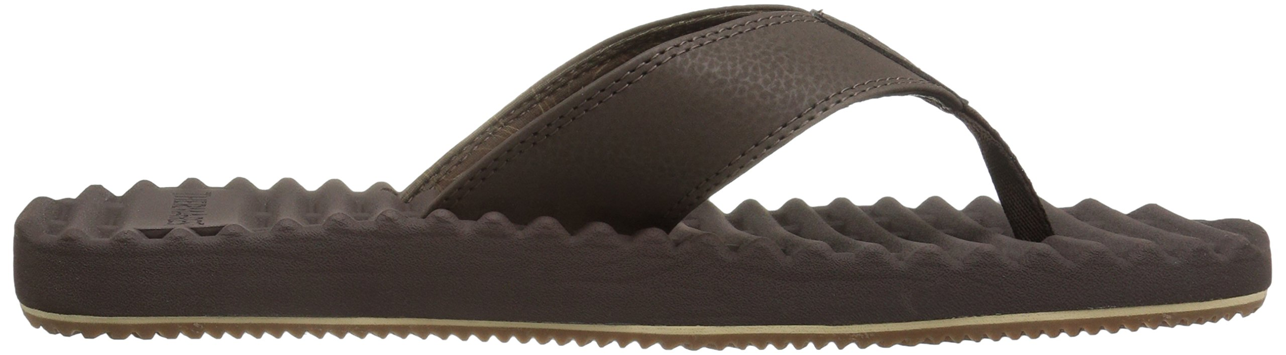 Freewaters Men's Basecamp Therm-a-Rest Flip Flop Sandal, Brown, 10 M US by Freewaters (Image #7)