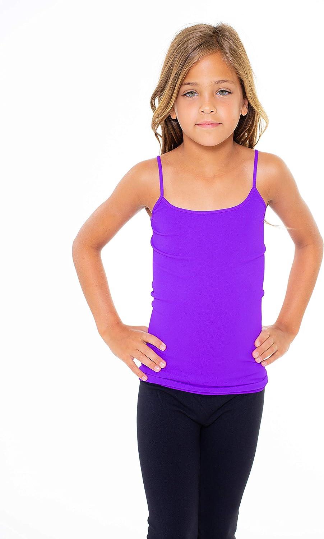 Girls Cami Tank Top Cami for Girls Size 7-14 Malibu Sugar Girls Camisole