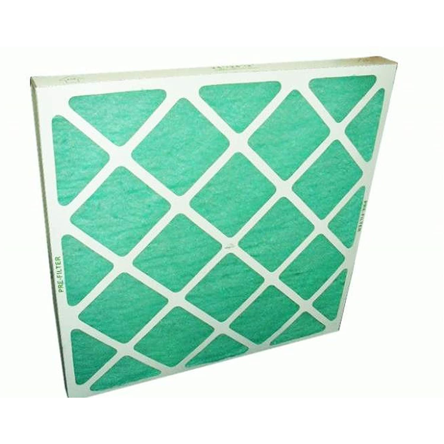Spray Booth Filter Card Lattice Front & Back Filter Media Encapsulated 24 x 24 x 2 inches Starchem