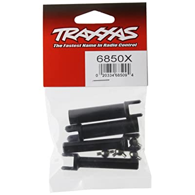 Traxxas 6850X Heavy-Duty Half Shafts with metal U-Joints (2 inner, 2 outer): Toys & Games